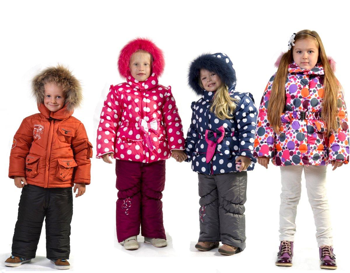 Мода для детей зима фото