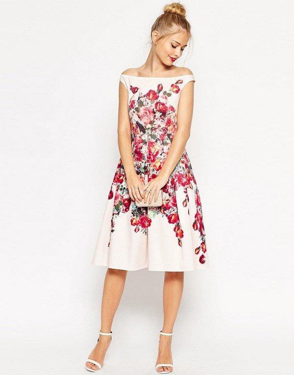 Короткие модные вечерние платья 2017-2018