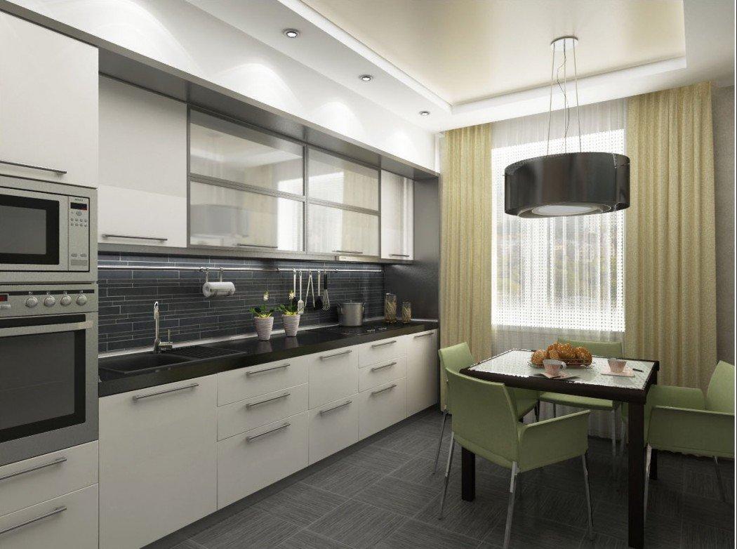 Дизайн кухни 18 м