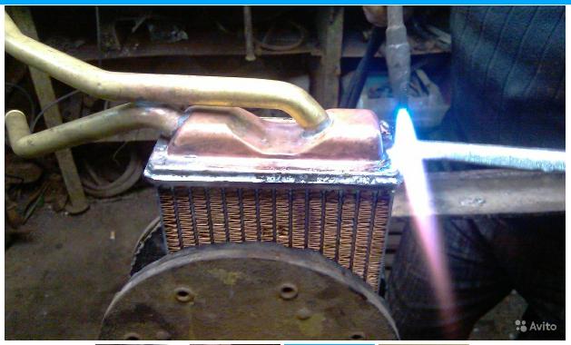 Автомобильный радиатор ремонт своими руками 26