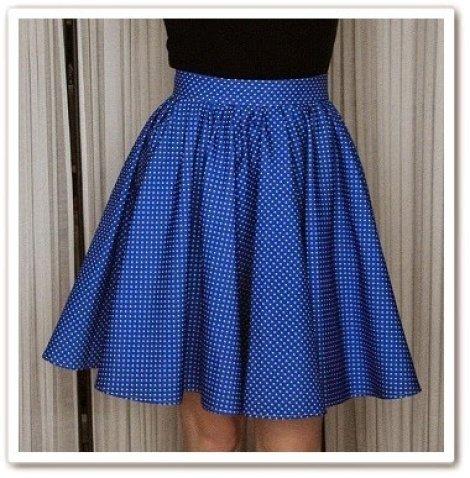 Сшить юбку с резинкой своими руками
