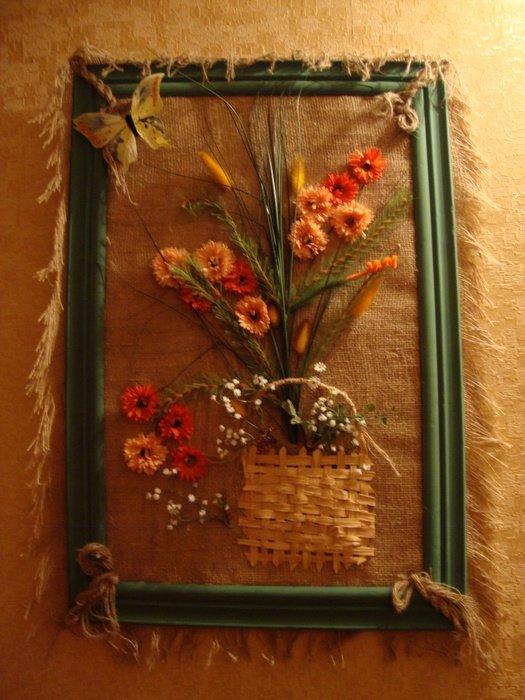 Панно на стену своими руками из подручных материалов 64