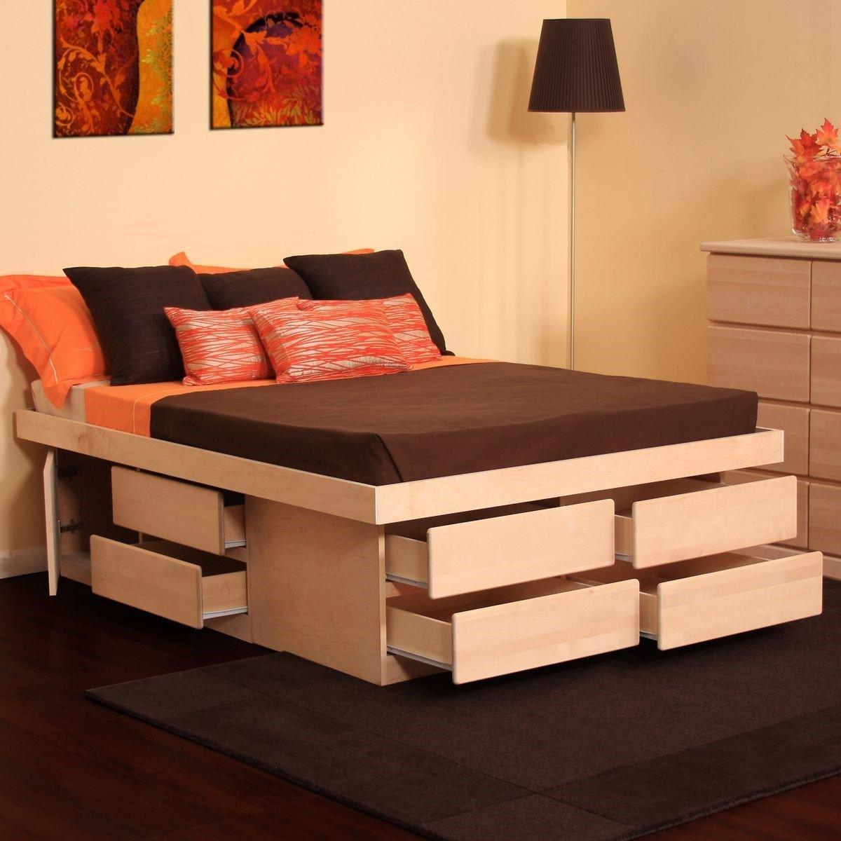 Как сделать кровать подиум своими руками пошагово Фото 99