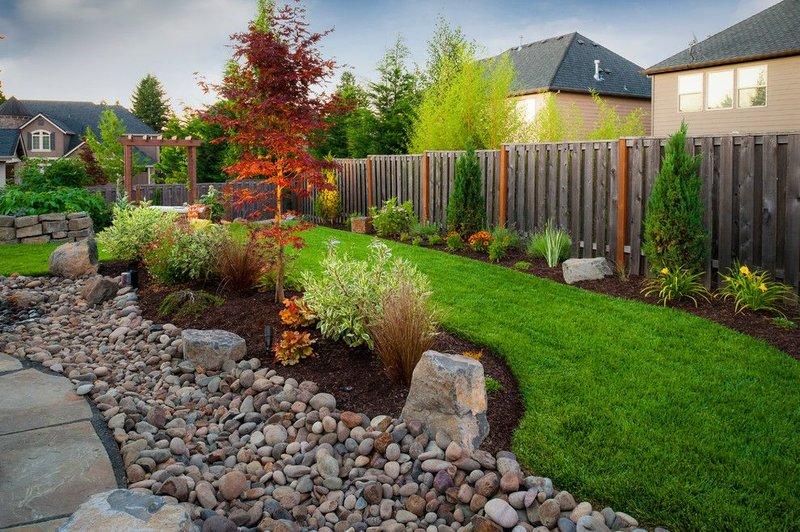 Фото дизайн огородного участка