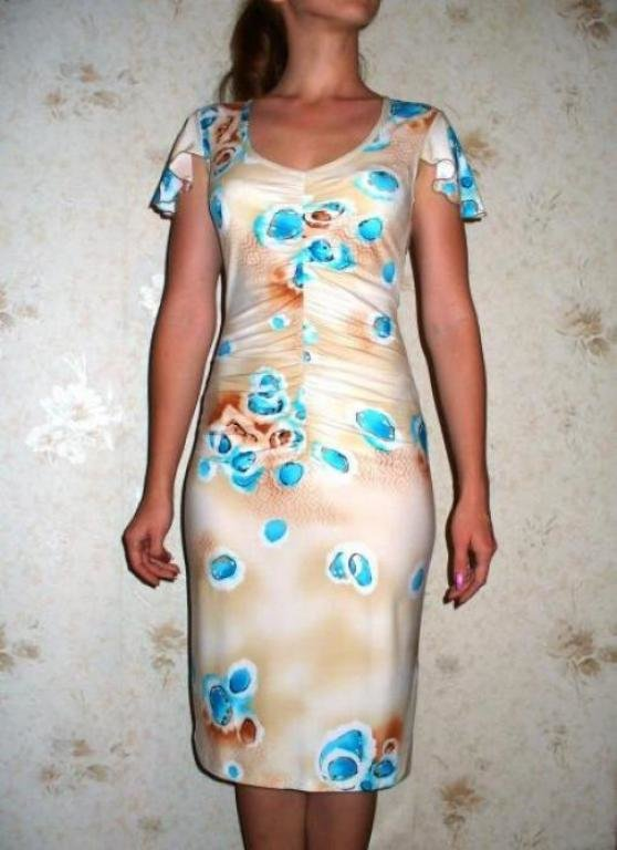 Платье своими руками трикотажная ткань