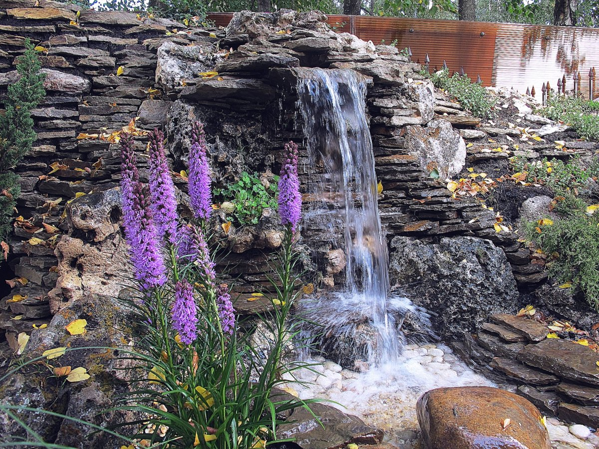 Водопад для дома своими руками фото