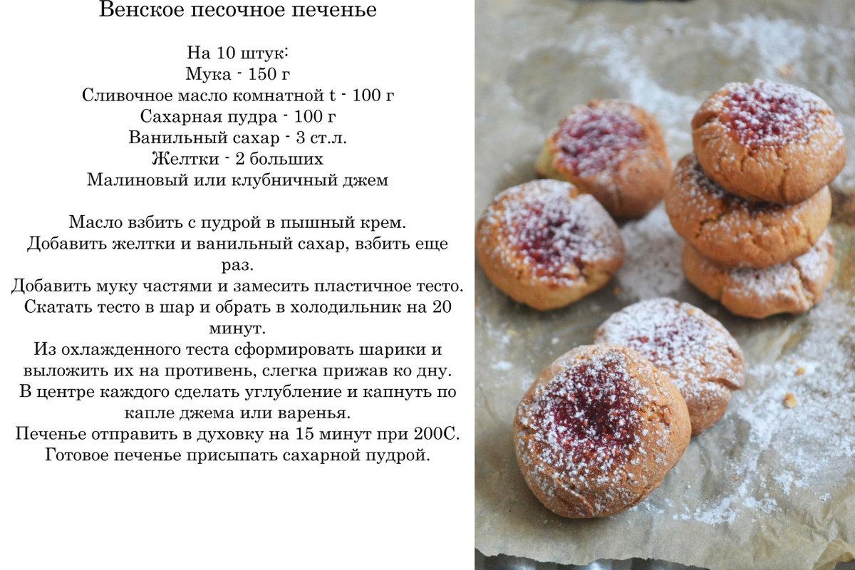 Рецепты для печенья в домашних условиях легкий рецепт 335