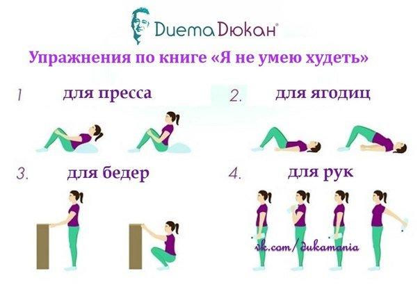 Как похудеть в руках упражнения в картинках