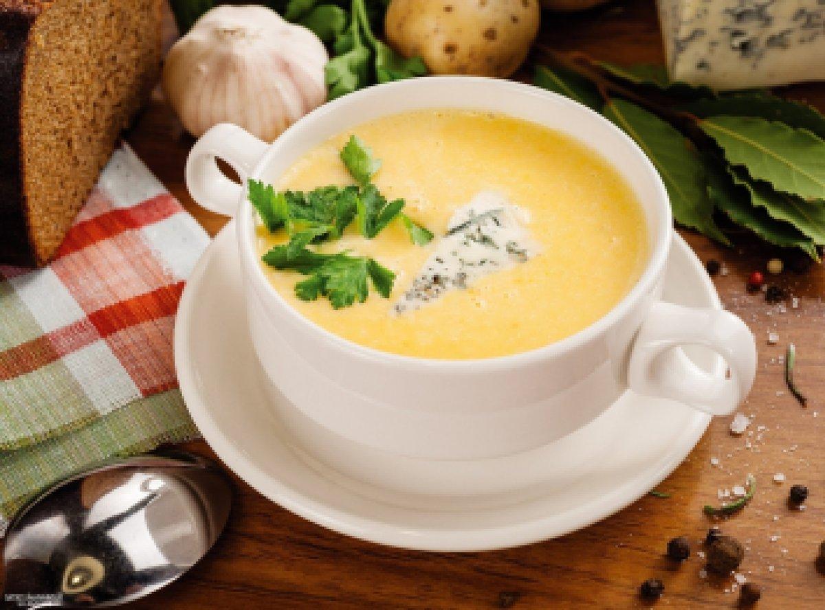 Суп-пюре сырный рецепт со сливками