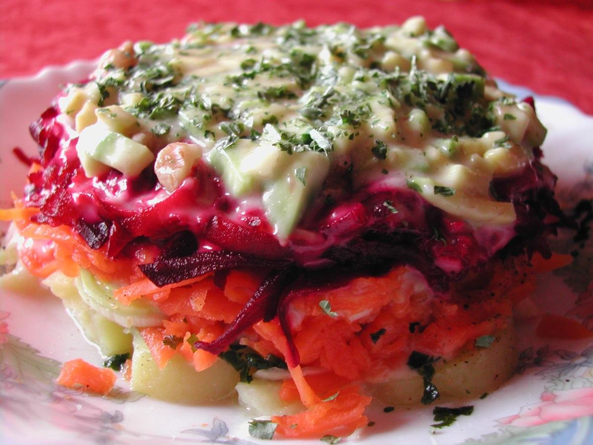 Шуба салат рецепт
