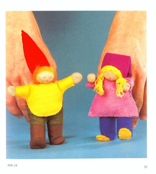Как сшить кукол для пальцев 13