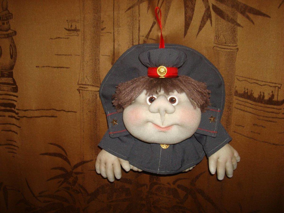 Кукла попик полицейский своими руками 69