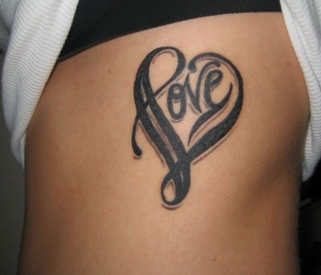 Татуировки на любовь фото