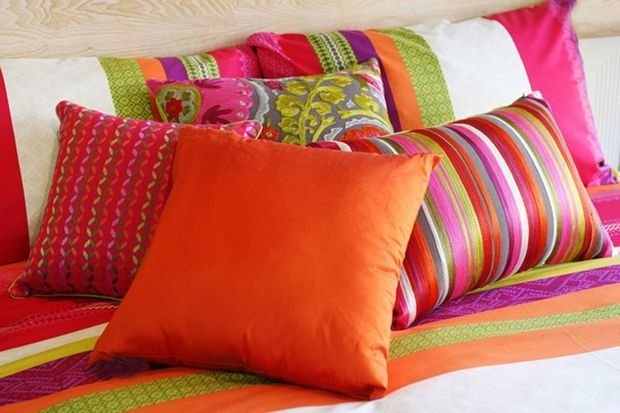 Декоративная подушка для дивана своими руками 64