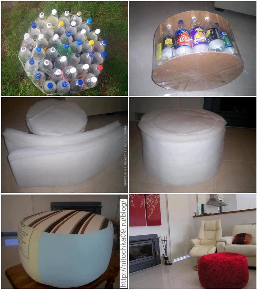 Пластиковые поделки в интерьере