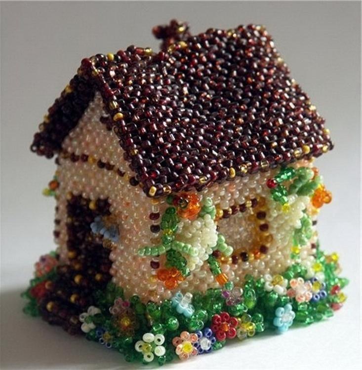 Для дома из бисера своими руками