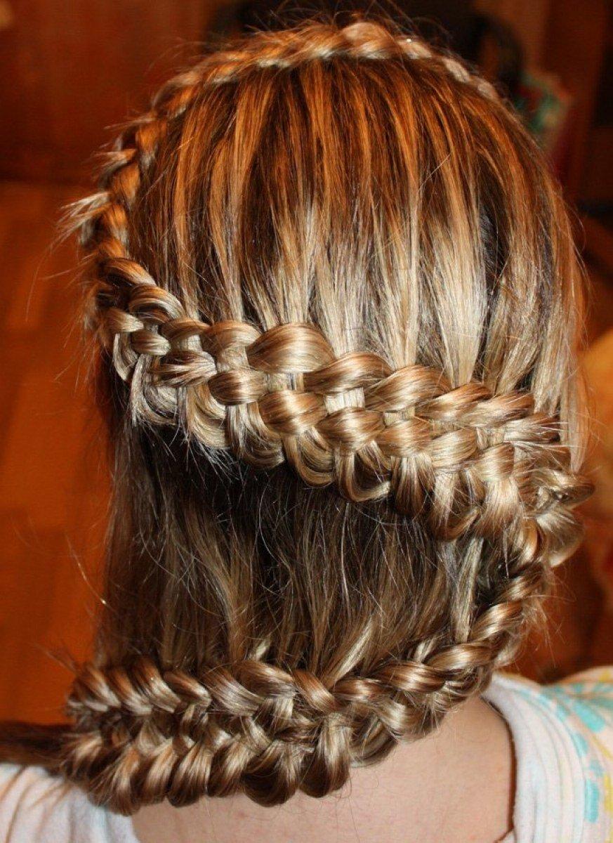 Плетение французских кос пошаговое фото