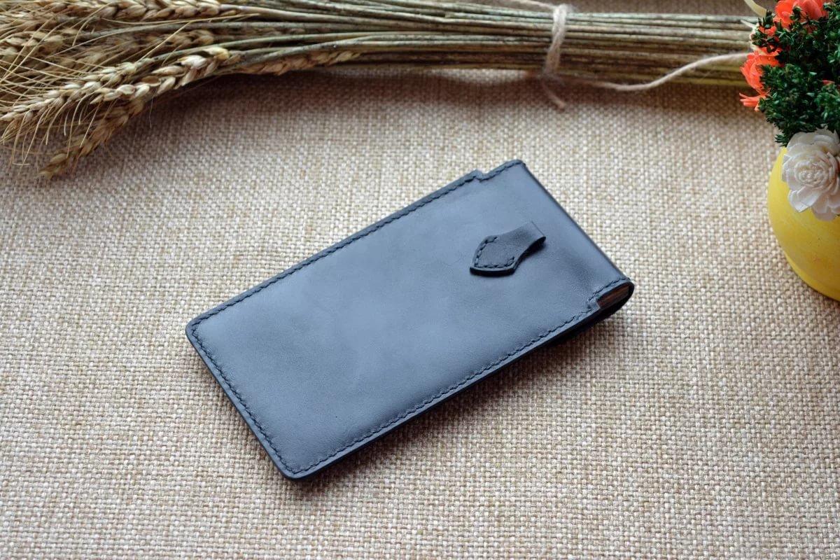 Кожаный футляр для телефона своими руками 487