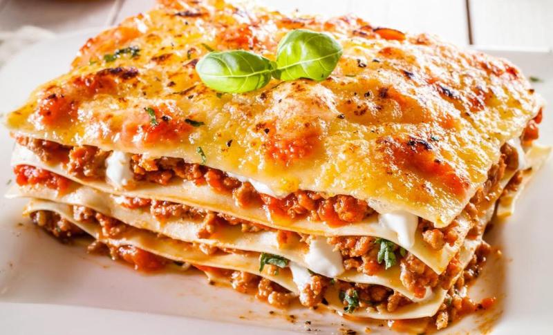 Рецепт лазанья с фаршем пошаговый рецепт приготовления