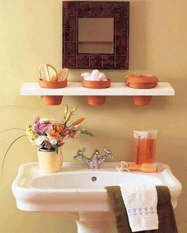 Декорирование ванной комнаты своими руками фото 61