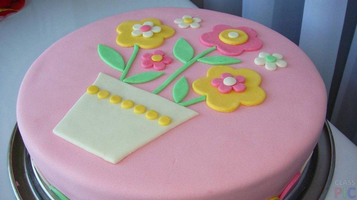Фото тортов с мастики детям