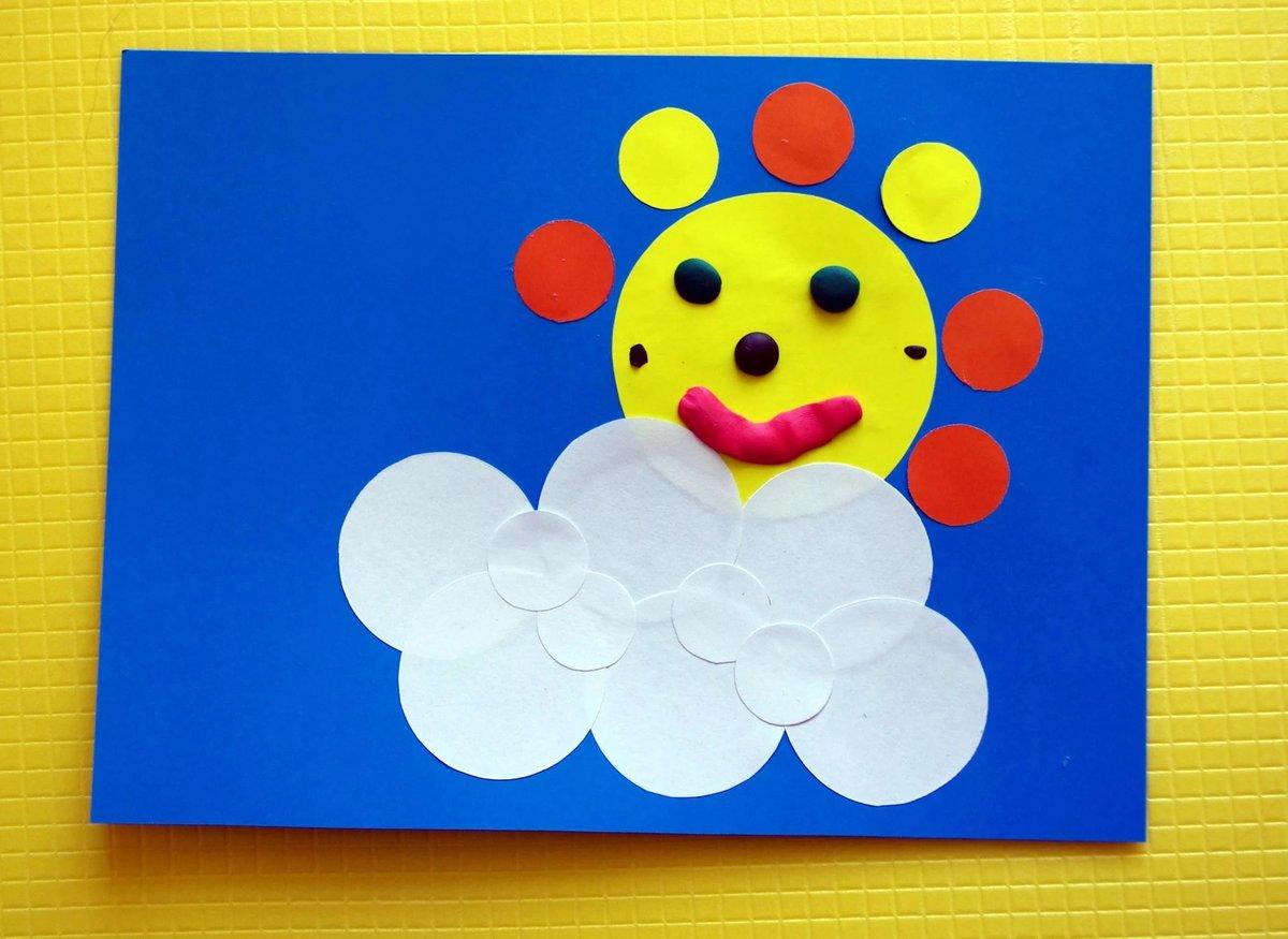 Детские поделки с цветной бумаги 70