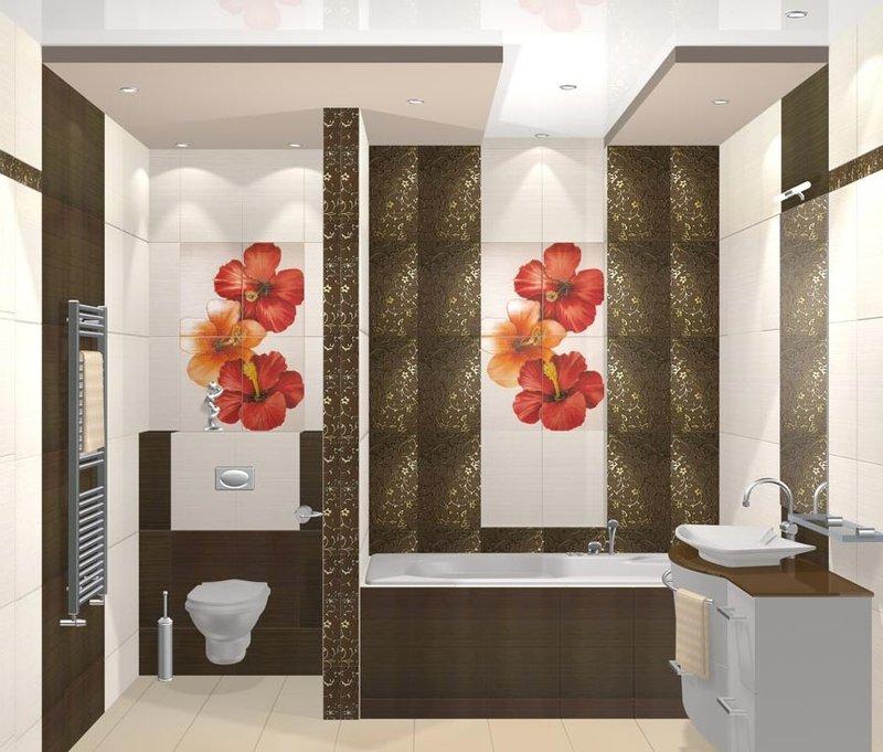 Кафель для ванной комнаты современный дизайн