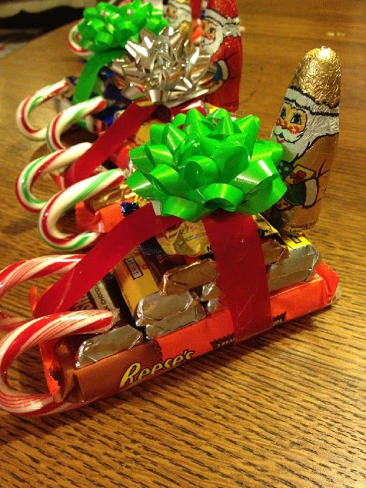 Сладкие подарки детям на новый 359