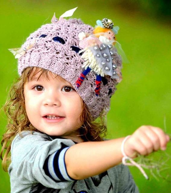 Вязание для маленьких шапочки 36