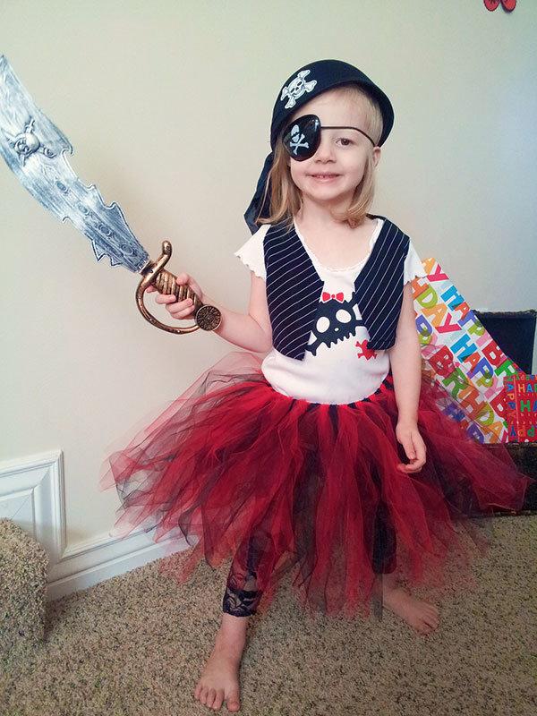 Костюм пирата для девочки своими руками фото 33