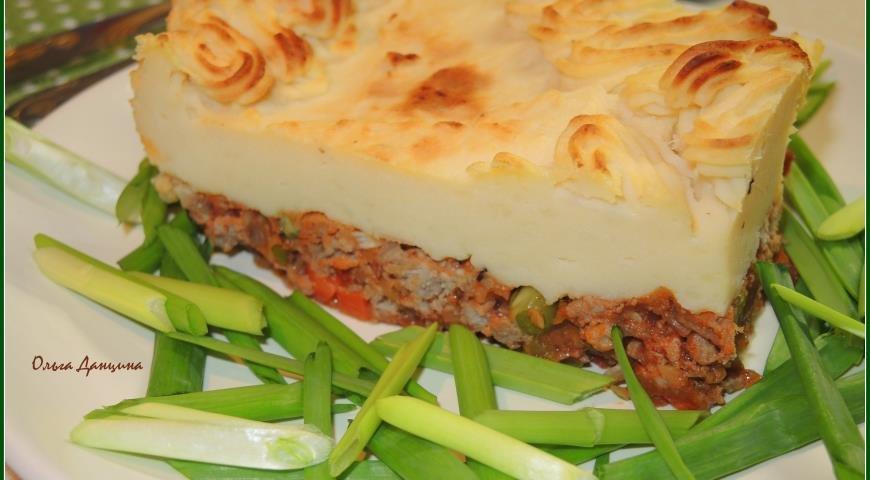 Запеканка с картошкой и мясом пошаговый рецепт с