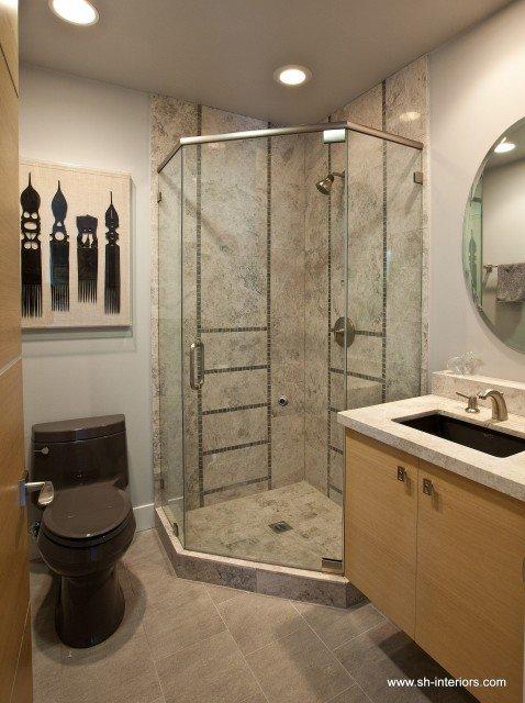 Дизайн ванной комнаты совмещенной с туалетом 15 квм