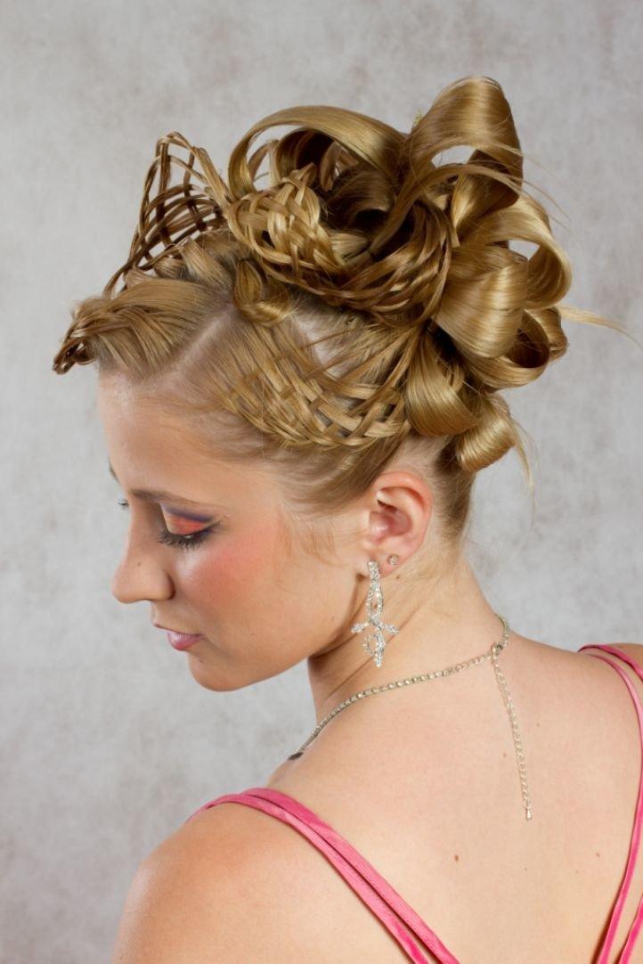 Плетение из волос свадебные прически