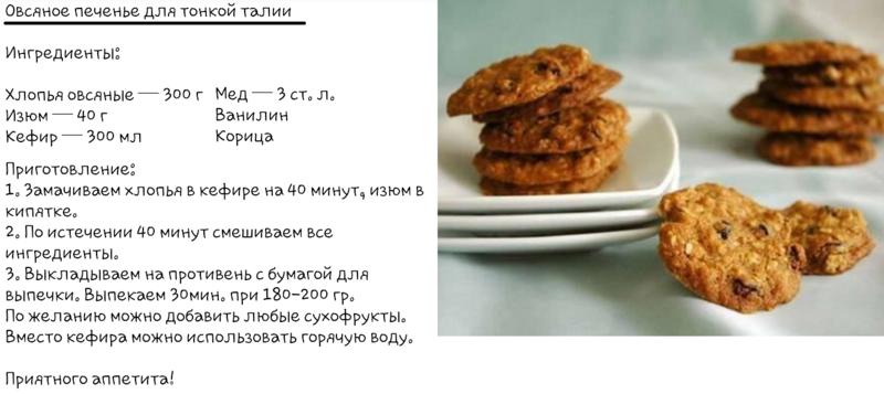 Рецепты для печенья в домашних условиях легкий рецепт 216