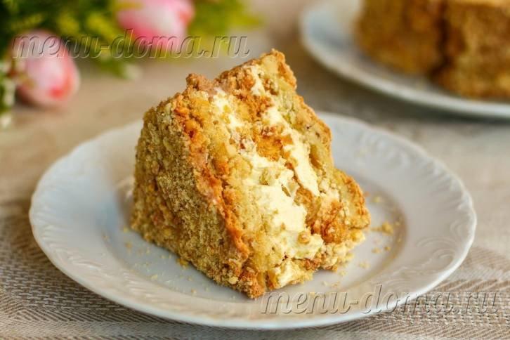 Торт киевский рецепт с фото пошагово от селезнева