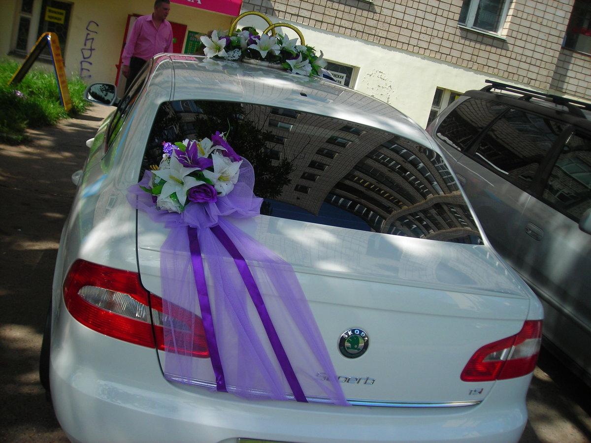 Украсить машину для свадьбы своими руками 16