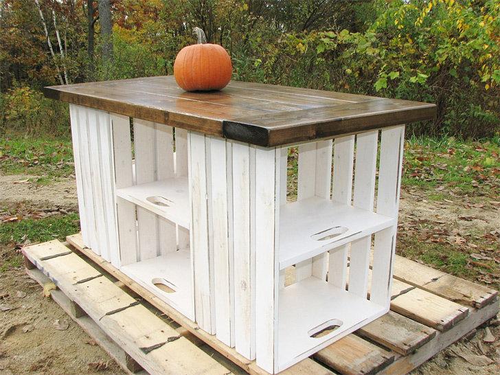 Кухня на даче своими руками из подручных материалов 8