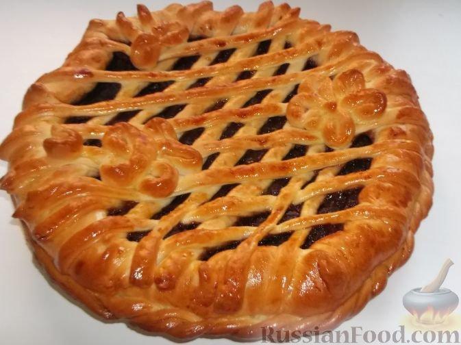 Пирог повидлом рецепт с