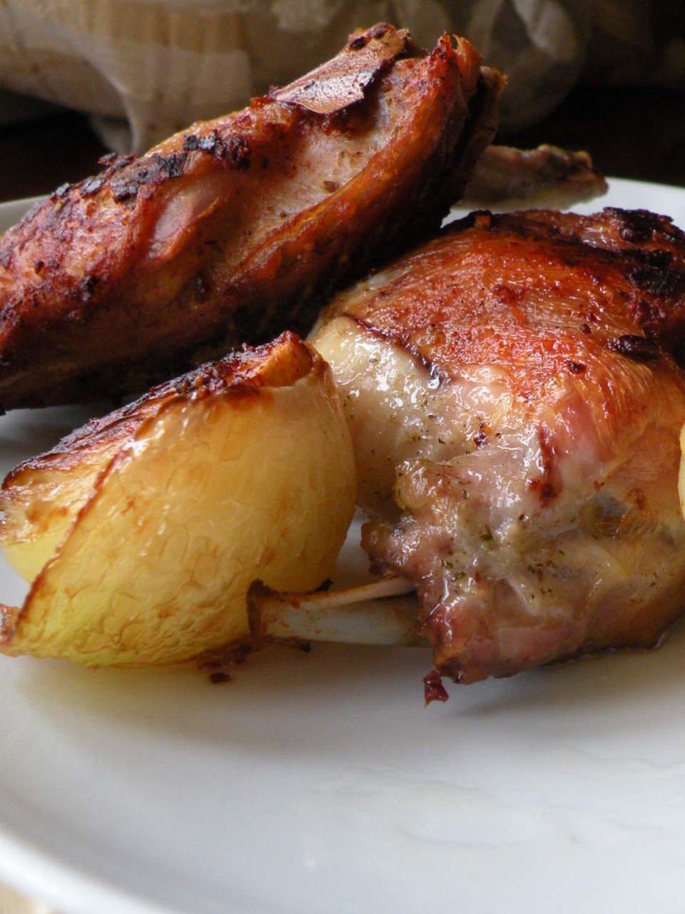 Запеченный кролик в духовке целиком рецепт пошагово в
