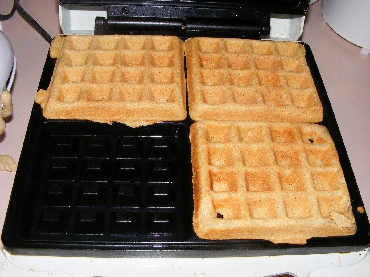 Как сделать вафли в вафельнице мягкими