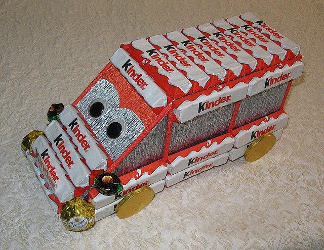 Подарок детям из конфет 4