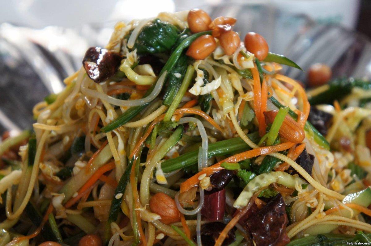 Салат харбинский по китайски рецепт