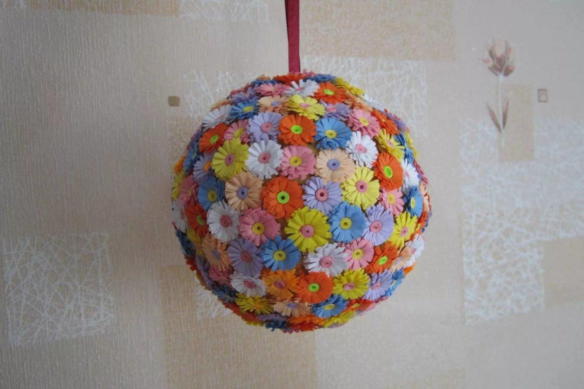 Поделки из воздушных шариков и ниток фото