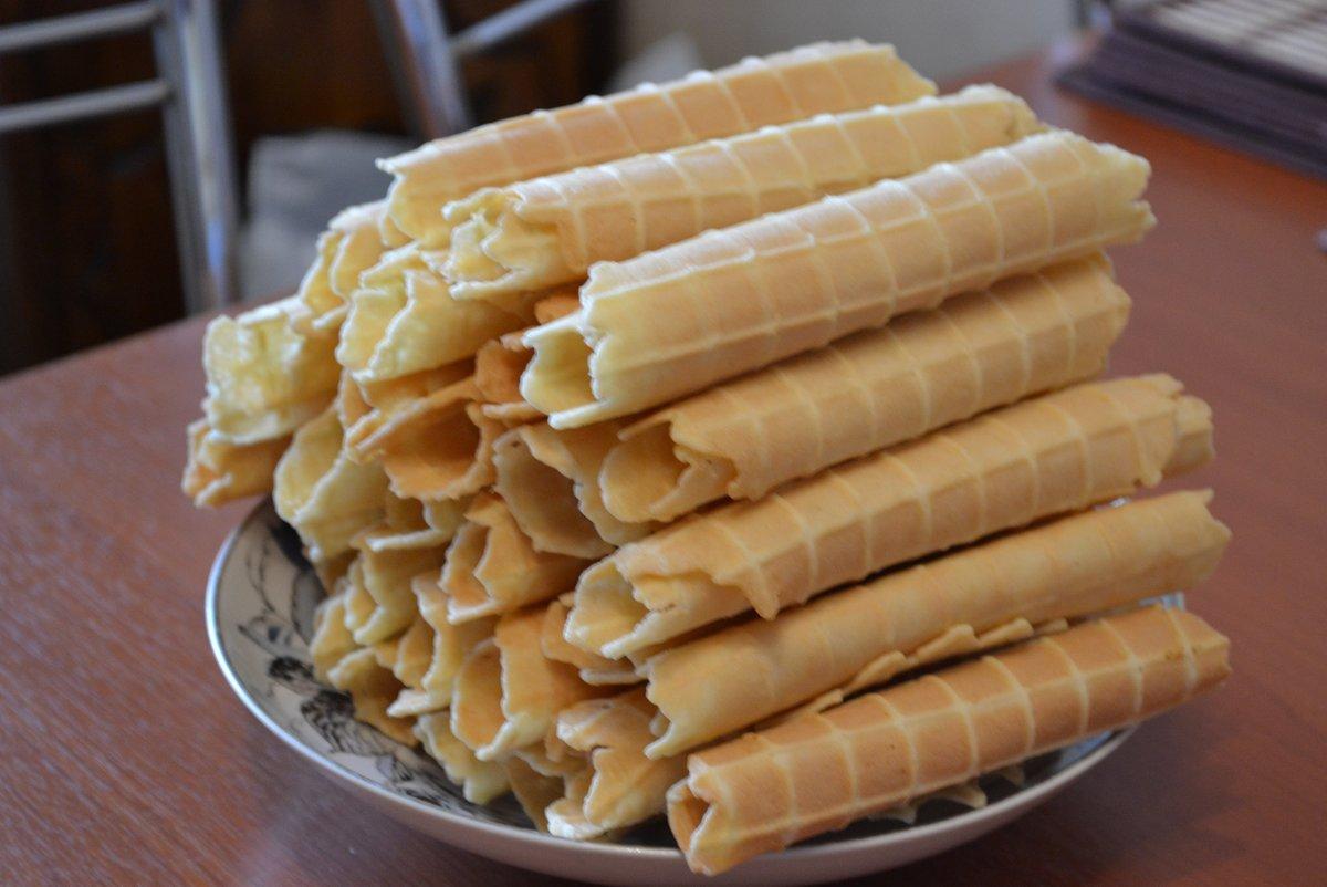 Тесто для вафельных трубочек в электровафельнице рецепт пошагово