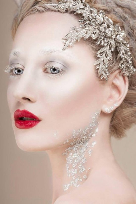 Авангардный и свадебный макияж