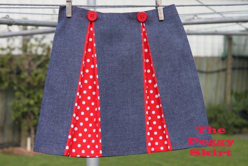 Как сшить детскую юбку из старой юбки