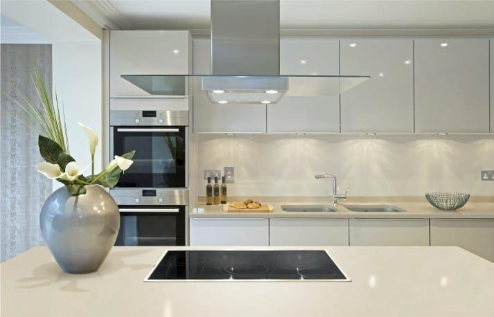 Интерьер кухня в стиле модерн фото