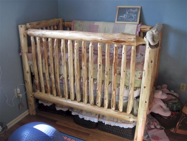 Кроватка детская из дерева своими руками