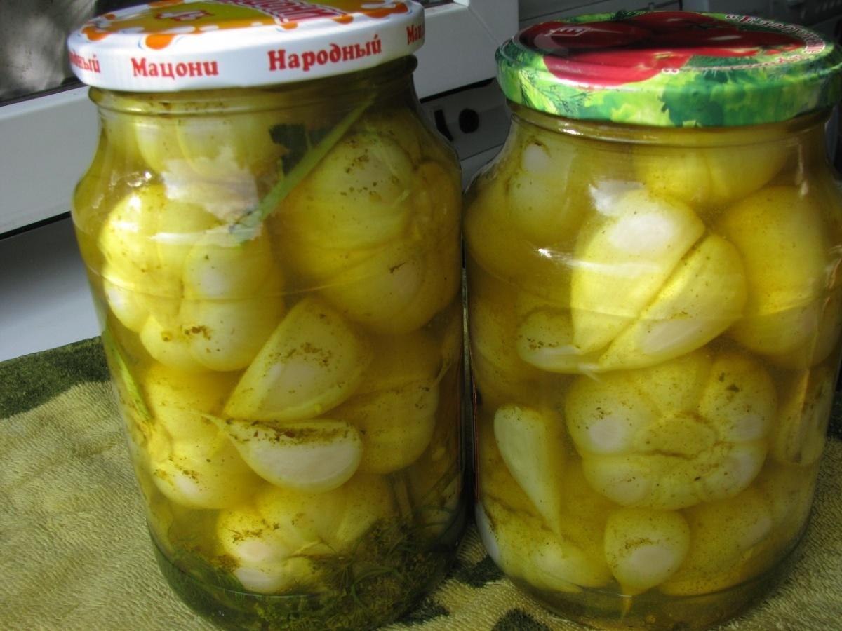 Рецепт маринование чеснока в домашних условиях