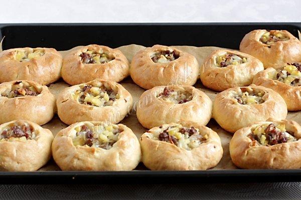 Татарский пирожки с мясом и картошкой рецепт 113